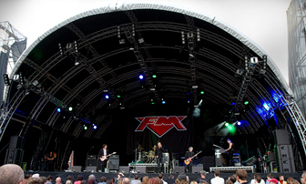 FM at Belfast Belsonic 2012 by Paul Verner