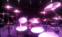FM - The view from Pete Jupp's drumkit - Belfast Odyssey Arena 12 June 2011