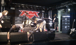 FM gear going up at the Rock Temple in Kerkrade