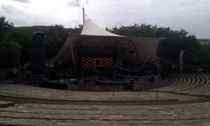 The stage at Loreley Freilichtbuhne
