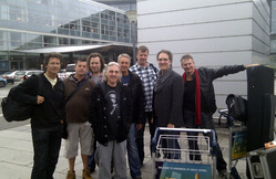 Team FM at Copenhagen airport