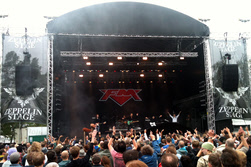 FM onstage at Sweden Rock 09 June 2011