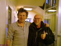 FM Indiscreet 25 Live Manchester - Tony Mitman & Didge Digital backstage - copyright The MOH
