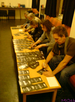 FM Indiscreet 25 Live Manchester - signing DVDs - copyright The MOH