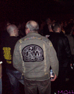FM Indiscreet 25 Live Manchester - FM back patch - copyright The MOH