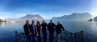 FM band and crew enjoy Lake Lugano 17 Nov 2015