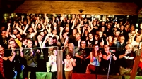 Audience at Cergy Pacific Rock