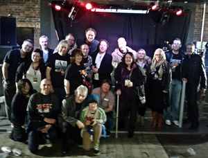FM with VIP Pledgers at Wolverhampton Slade Rooms 16 March 2013