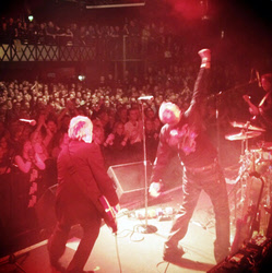 FM on stage at Nottingham Rock City 09 Dec 2012