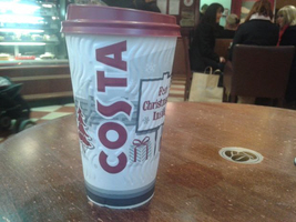 Costa Coffee saves the day