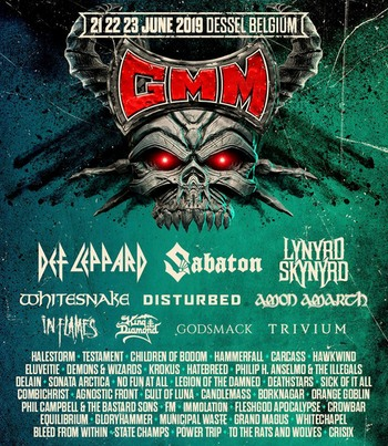 FM at Graspop June 2019 - poster