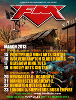 FM March 2013 tour poster