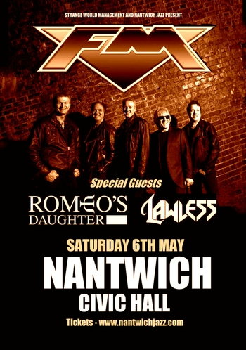 FM - Romeo's Daughter - Nantwich - May 2017 - poster