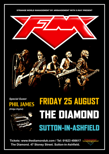 FM - The Diamond - Sutton-in-Ashfield - 25 August 2017 - poster