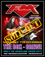 FM live at The Box Crewe 7 Dec 2013 poster